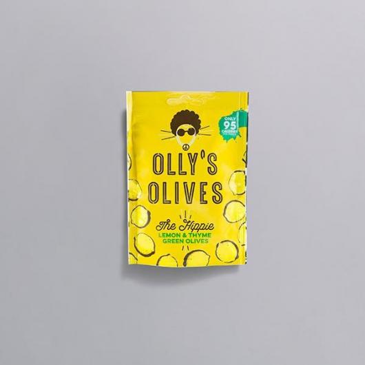 Olly's Unpasteurised Greek Olives - Lemon & Thyme