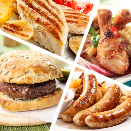 60 Piece Summer BBQ Meat Selection
