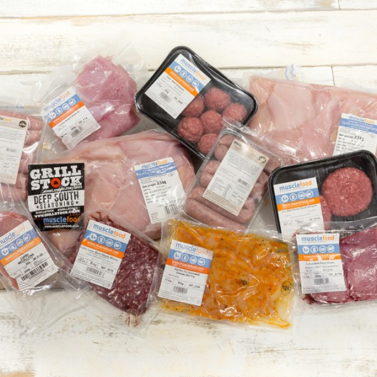 62 Piece March Lean Meat Selection