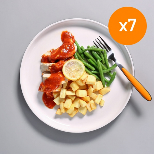 7x Lemon Chilli Chicken - 461kcal