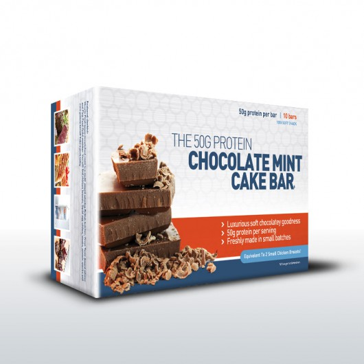 10 x Chocolate Cake Bars - 1kg In Weight!