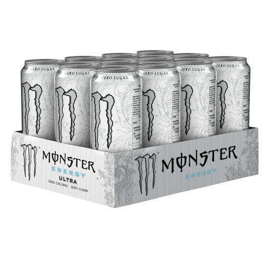 Monster Energy Ultra White - 24 x 500ml