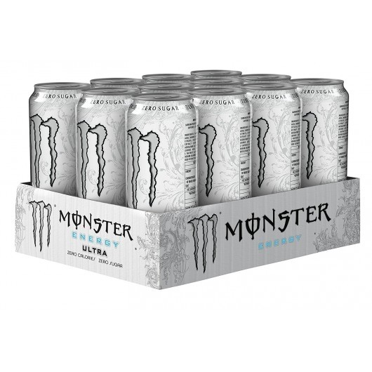 Monster Energy Ultra White - 36 x 500ml