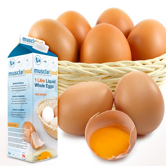British Liquid Whole Eggs 1 Litre Carton