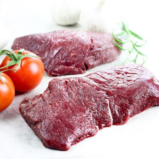 2 x 5oz Premium Horse Fillet Steaks ****