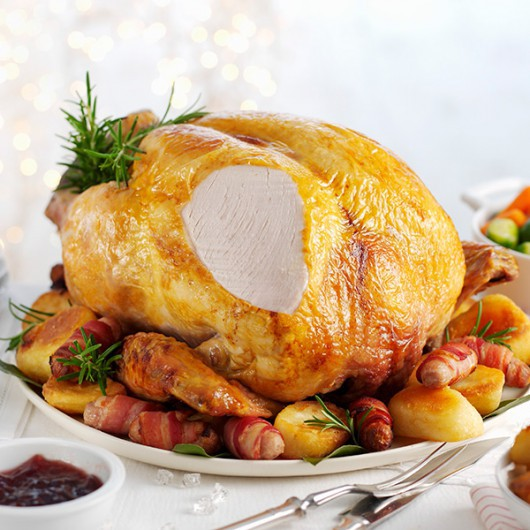 Luxury British Christmas Turkey Hamper