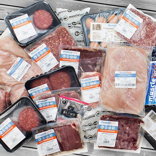 UKAS Certified Extra Lean Meat Stack
