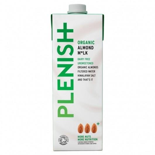 Plenish Dairy Free Almond Milk - 2 x 1 Litre Cartons