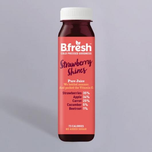 B.Fresh Strawberry Shines Juice 250ml