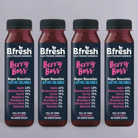 B.Fresh Berry Boss Smoothie - 4 x 250ml