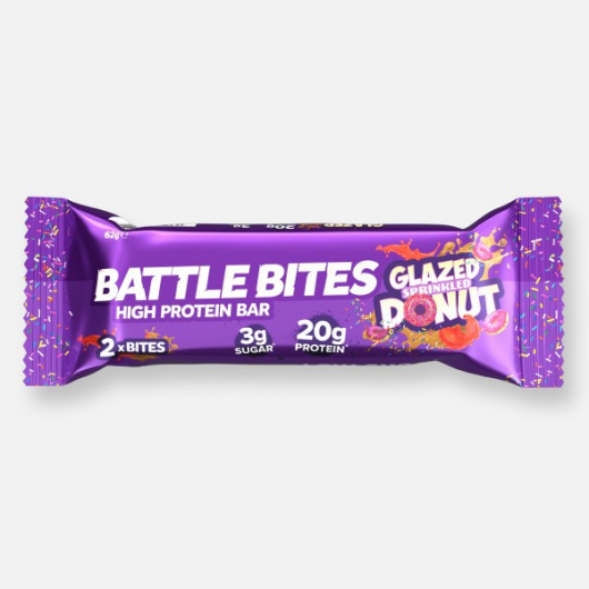 Battle Bites Protein Bar - Glazed Donut 62g