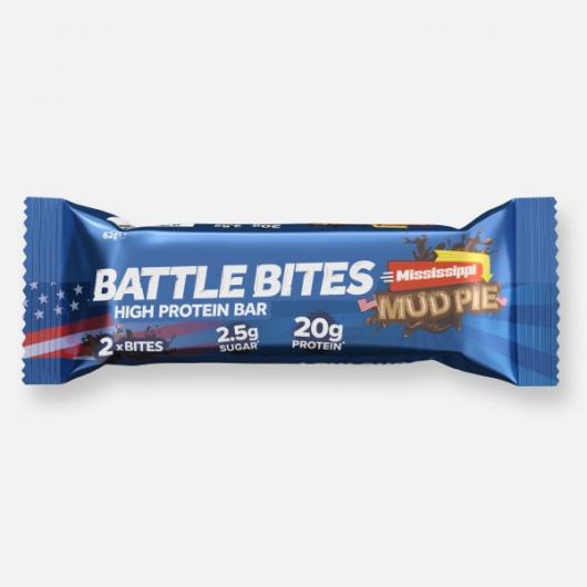 Battle Bites Protein Bar - Mud Pie 62g