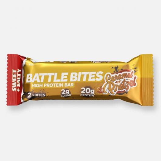 Battle Bites Protein Bar - Pretzel 62g