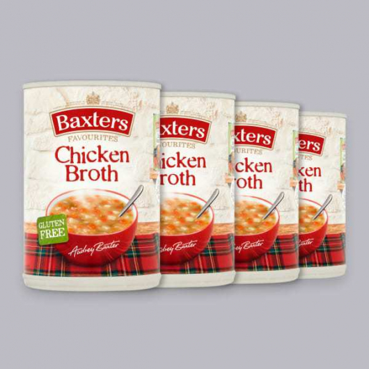 Baxters Chicken Broth 4 x 400g