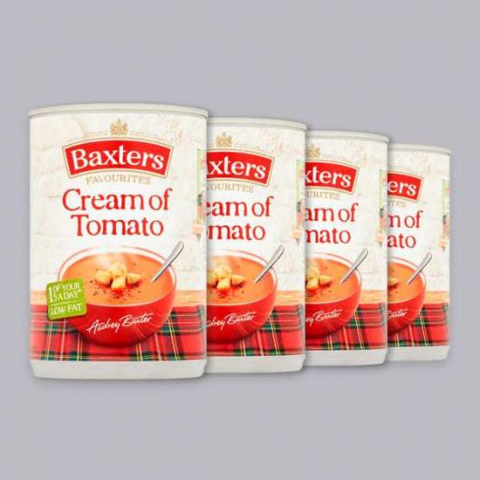 Baxters Cream of Tomato Soup 4 x 400g