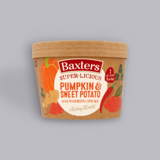 Baxters Super-licious Pumpkin & Sweet Potato Soup with Warming Spices 350g