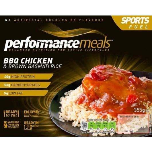 3 x BBQ Chicken & Basmati Rice Performance Meal 355g