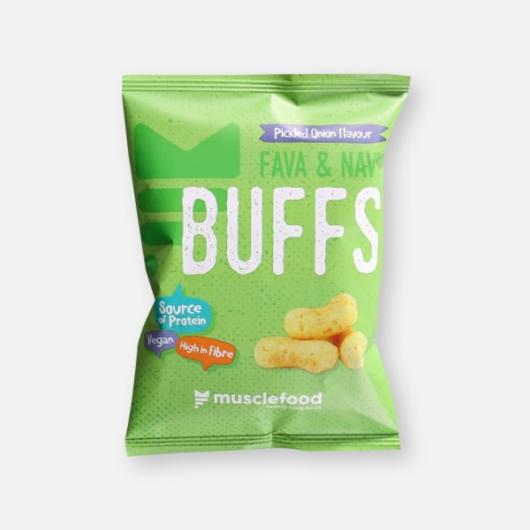 Bean Puffs - Pickled Onion