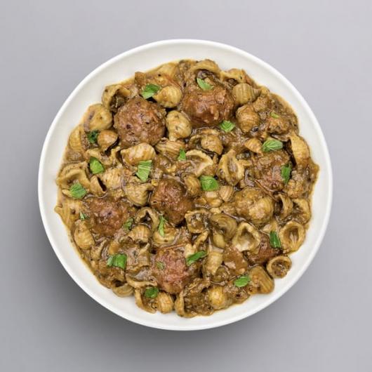 Beef Meatballs & Pasta - +33g Protein
