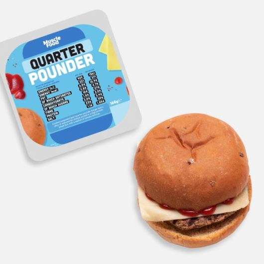 Beef Quarter Pounder with Cheese - 168g