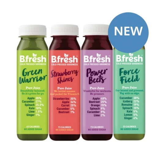 B.Fresh Cold Pressed Juices