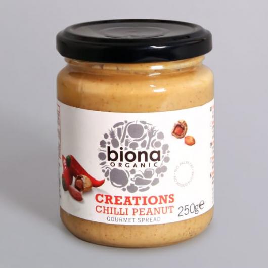 Organic Chilli Peanut Spread - 250g