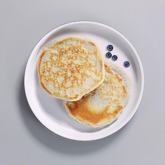 Ready To Eat Blueberry Protein Pancakes