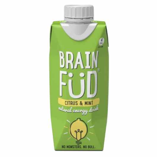 Brain Füd Energy Drink - Citrus & Mint 330ml