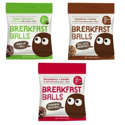 Protein Breakfast Balls