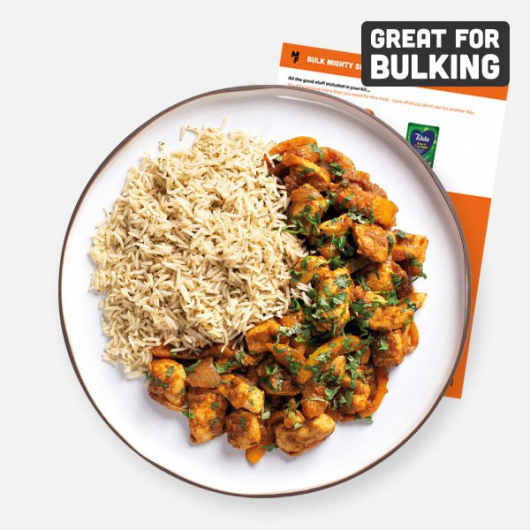 Bulking Mighty Spice Chicken Karahi with Rice