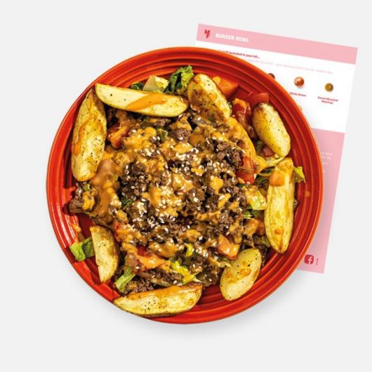 The Ultimate Burger Bowl Recipe Kit