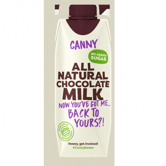 10 x Canny Chocolate Milk - 330ml