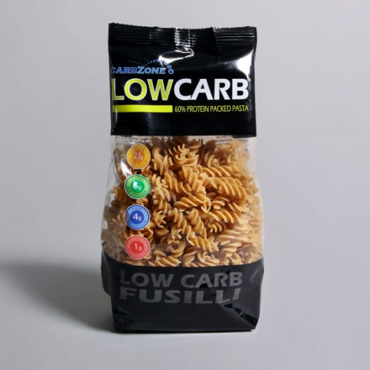 Carbzone Low Carb Fusilli Pasta - 250g