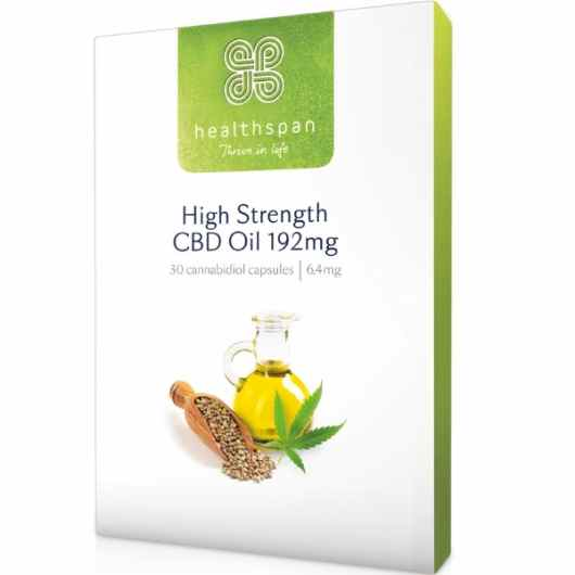 High Strength Hemp Oil