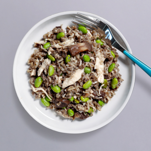 Chicken & Mushroom Risotto Pot - 41g Protein & 376 Kcal