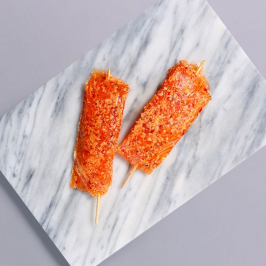 Chilli and Lime Salmon Skewers - 2 x 90g
