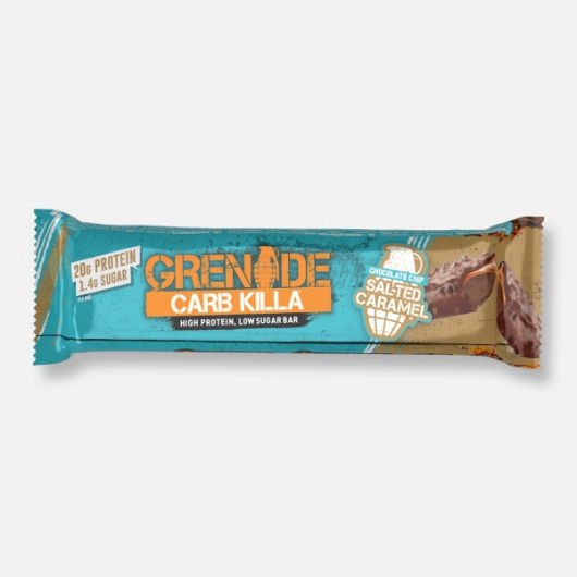 Chocolate Chip Salted Caramel Grenade® Carb Killa™ Bar 60g