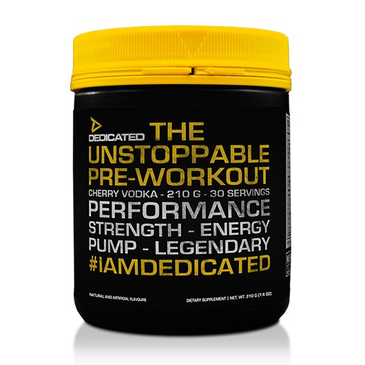 Dedicated - Unstoppable Pre-Workout