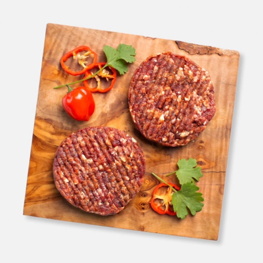 Habanero Chilli Beef Burgers 2 x 114g