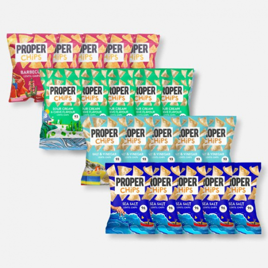 PROPERCHIPS Variety Pack - 20 Bags