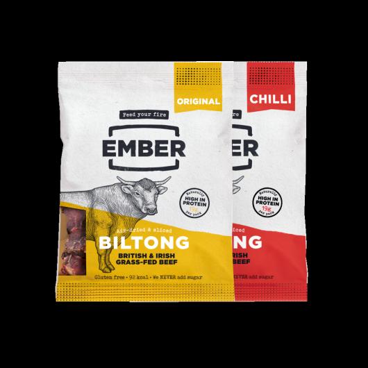 Ember High Protein Biltong Bundle - 2 x 30g Packs