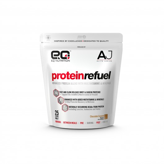 EQ Nutrition Anthony Joshua Protein Refuel 900g