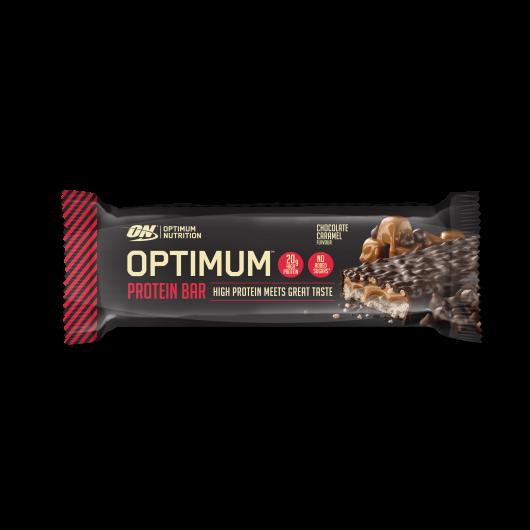 Chocolate Caramel Optimum Protein Bars - 10 x 60g