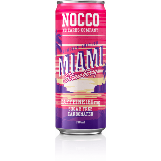 Nocco BCAA Drink - Miami Strawberry
