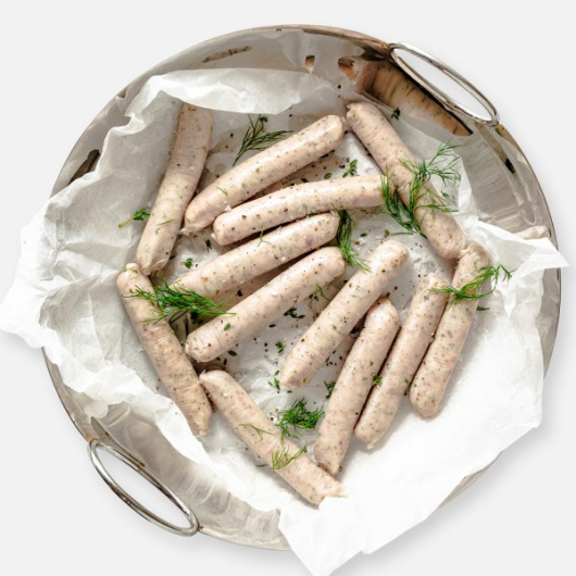 Chicken Breast Sausages - 12 x 33g
