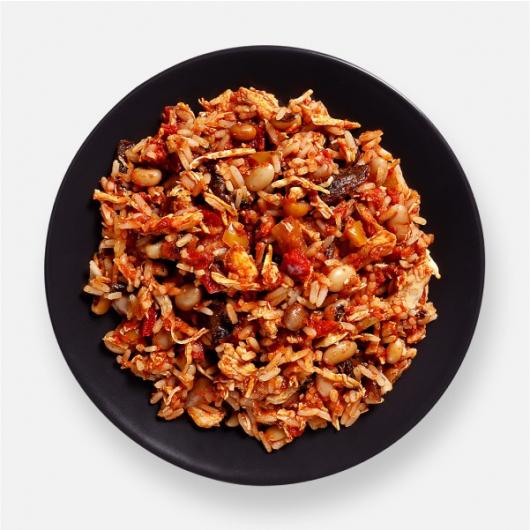 Chicken Fajita Rice Pot - 346 kcal