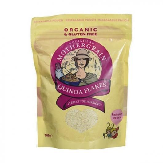 Quinola Mothergrain Organic Quinoa Flakes 200g