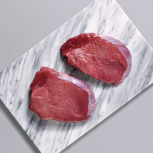 Free Range Centre Cut Steaks - 2 x 170g
