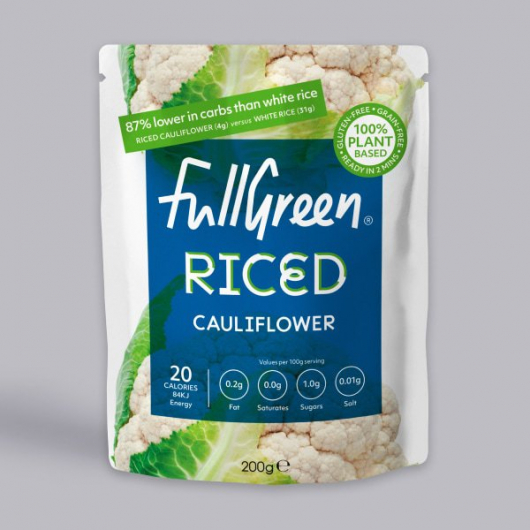 Fullgreen Low Calorie Riced Cauliflower 200g