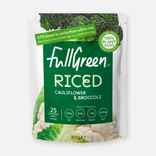 Fullgreen Riced Broccoli with Cauliflower 200g